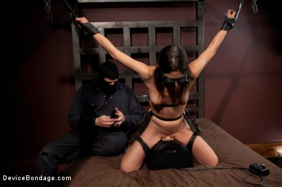 Photo number 8 from Amber Rayne, Helpless and Chained shot for Device Bondage on Kink.com. Featuring Amber Rayne in hardcore BDSM & Fetish porn.
