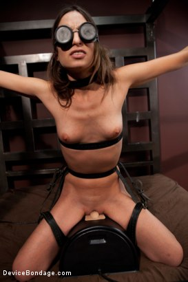 Photo number 7 from Amber Rayne, Helpless and Chained shot for Device Bondage on Kink.com. Featuring Amber Rayne in hardcore BDSM & Fetish porn.