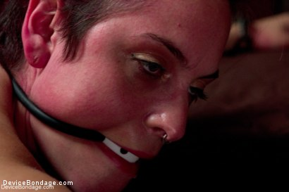 Photo number 10 from Sexy Bad Girl Tamed By Chain shot for Device Bondage on Kink.com. Featuring Rozen Debowe in hardcore BDSM & Fetish porn.