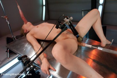Photo number 6 from Tentacle Fucking: Sci-fi Dildos and Futuristic Machines shot for Fucking Machines on Kink.com. Featuring Sensi Pearl in hardcore BDSM & Fetish porn.