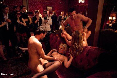 Photo number 13 from Kink Swing Presents: <br> Eyes Wide Fucked: Part One shot for Kink Test Shoots on Kink.com. Featuring James Deen, Mark Davis, Marco Banderas, Lexi Belle, Phoenix Marie, Gia DiMarco and Iona Grace in hardcore BDSM & Fetish porn.