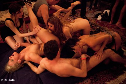 Photo number 8 from Eyes Wide Fucked pt. 2 the Porn Star Orgy shot for Kink Test Shoots on Kink.com. Featuring James Deen, Mark Davis, Marco Banderas, Lexi Belle, Phoenix Marie, Gia DiMarco and Iona Grace in hardcore BDSM & Fetish porn.