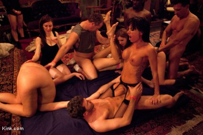 Eyes Wide Fucked pt. 2 the Porn Star Orgy