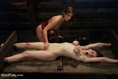 Photo number 7 from 19 year old with big tits is electrified into orgasm shot for Wired Pussy on Kink.com. Featuring Ariel X and Iona Grace in hardcore BDSM & Fetish porn.