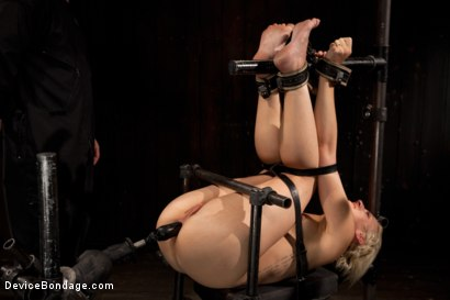 Photo number 12 from Tall blonde bound and fucked into oblivion shot for Device Bondage on Kink.com. Featuring Dylan Ryan in hardcore BDSM & Fetish porn.