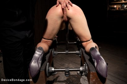 Photo number 1 from Tall blonde bound and fucked into oblivion shot for Device Bondage on Kink.com. Featuring Dylan Ryan in hardcore BDSM & Fetish porn.