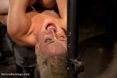 Photo number 13 from Tall blonde bound and fucked into oblivion shot for Device Bondage on Kink.com. Featuring Dylan Ryan in hardcore BDSM & Fetish porn.
