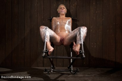 Photo number 5 from Tall blonde bound and fucked into oblivion shot for Device Bondage on Kink.com. Featuring Dylan Ryan in hardcore BDSM & Fetish porn.