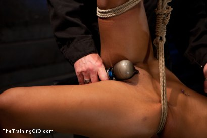 Photo number 15 from Skin Diamond Day Two<br>Slave Ransom shot for The Training Of O on Kink.com. Featuring Skin Diamond in hardcore BDSM & Fetish porn.