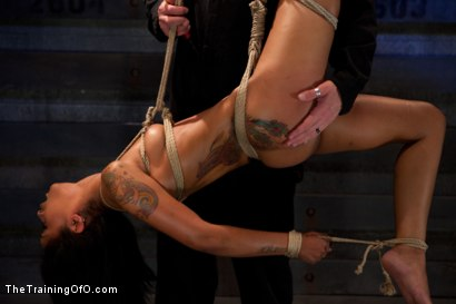 Photo number 3 from Skin Diamond Day Two<br>Slave Ransom shot for The Training Of O on Kink.com. Featuring Skin Diamond in hardcore BDSM & Fetish porn.