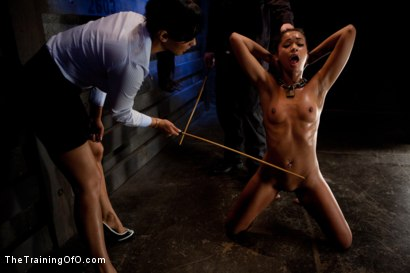 Photo number 2 from Slave Ransom Day 5-Sexual Overload<br>Every Hole Gets Filled shot for The Training Of O on Kink.com. Featuring Skin Diamond, Isis Love, Maestro and Matt Williams in hardcore BDSM & Fetish porn.
