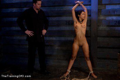 Photo number 14 from Skin Diamond-Day 4<br>Intense Predicament Bondage & Non-Stop Orgasms Pushes ash Over the Edge shot for The Training Of O on Kink.com. Featuring Skin Diamond in hardcore BDSM & Fetish porn.