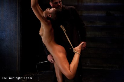 Photo number 4 from Skin Diamond-Day 4<br>Intense Predicament Bondage & Non-Stop Orgasms Pushes ash Over the Edge shot for The Training Of O on Kink.com. Featuring Skin Diamond in hardcore BDSM & Fetish porn.