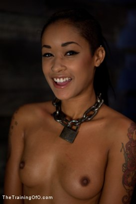 Photo number 26 from Skin Diamond Live Show<br>The Final Test of Slave Training ash shot for The Training Of O on Kink.com. Featuring Skin Diamond, Maestro and Asphyxia Noir in hardcore BDSM & Fetish porn.