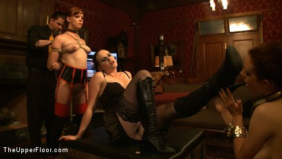 Photo number 13 from Service Day: Welcome Back Governess shot for The Upper Floor on Kink.com. Featuring Iona Grace and Lilla Katt in hardcore BDSM & Fetish porn.