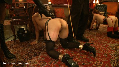Photo number 19 from Service Day: Welcome Back Governess shot for The Upper Floor on Kink.com. Featuring Iona Grace and Lilla Katt in hardcore BDSM & Fetish porn.