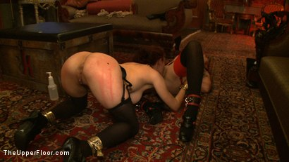 Photo number 10 from Service Day: Welcome Back Governess shot for The Upper Floor on Kink.com. Featuring Iona Grace and Lilla Katt in hardcore BDSM & Fetish porn.