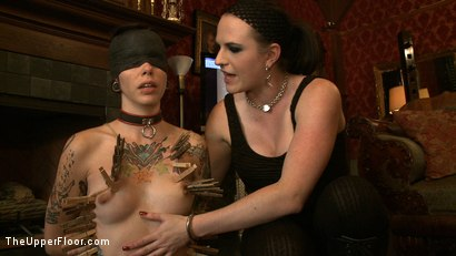 Photo number 12 from Service Day shot for The Upper Floor on Kink.com. Featuring Nerine Mechanique and Krysta Kaos in hardcore BDSM & Fetish porn.