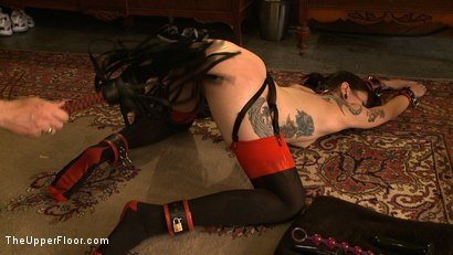 Photo number 15 from Service Day: Double Anal Training  shot for The Upper Floor on Kink.com. Featuring Krysta Kaos in hardcore BDSM & Fetish porn.