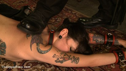 Photo number 16 from Service Day: Double Anal Training  shot for The Upper Floor on Kink.com. Featuring Krysta Kaos in hardcore BDSM & Fetish porn.