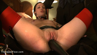 Photo number 10 from Service Day: Double Anal Training  shot for The Upper Floor on Kink.com. Featuring Krysta Kaos in hardcore BDSM & Fetish porn.