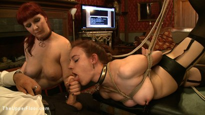 Photo number 21 from Service Day: Tight Squeeze shot for The Upper Floor on Kink.com. Featuring Iona Grace and Nerine Mechanique in hardcore BDSM & Fetish porn.