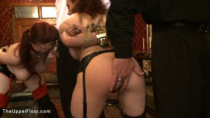 Photo number 4 from Service Day: Tight Squeeze shot for The Upper Floor on Kink.com. Featuring Iona Grace and Nerine Mechanique in hardcore BDSM & Fetish porn.