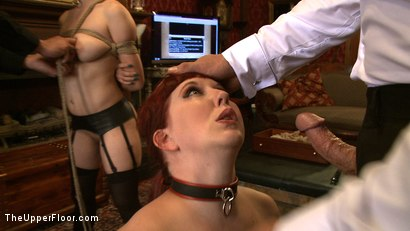 Photo number 7 from Service Day: Tight Squeeze shot for The Upper Floor on Kink.com. Featuring Iona Grace and Nerine Mechanique in hardcore BDSM & Fetish porn.