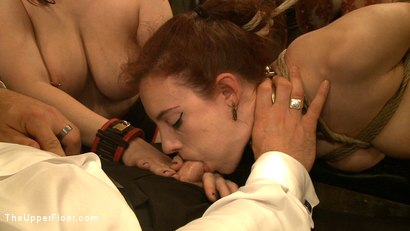 Photo number 12 from Service Day: Tight Squeeze shot for The Upper Floor on Kink.com. Featuring Iona Grace and Nerine Mechanique in hardcore BDSM & Fetish porn.