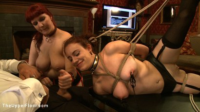 Photo number 19 from Service Day: Tight Squeeze shot for The Upper Floor on Kink.com. Featuring Iona Grace and Nerine Mechanique in hardcore BDSM & Fetish porn.