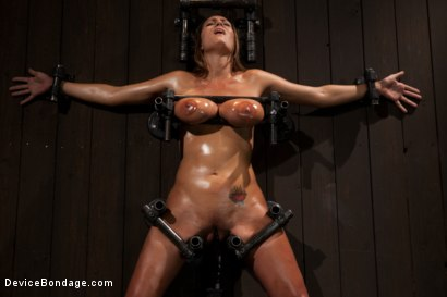 Photo number 13 from Boobs in Bondage - A day with Trina shot for Device Bondage on Kink.com. Featuring Trina Michaels in hardcore BDSM & Fetish porn.