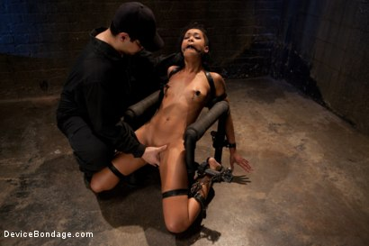 Photo number 2 from Part 2: Sexual Overload shot for Device Bondage on Kink.com. Featuring Skin Diamond and Maestro in hardcore BDSM & Fetish porn.