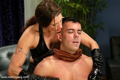 Photo number 5 from Marc Bowman and Kym Wilde shot for Men In Pain on Kink.com. Featuring Marc Bowman and Kym Wilde in hardcore BDSM & Fetish porn.