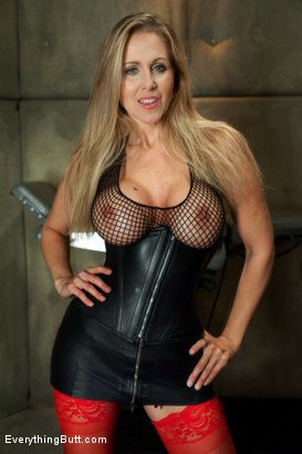 Photo number 1 from Julia Ann's Anal Domination shot for Everything Butt on Kink.com. Featuring John Strong, Bobbi Starr and Julia Ann in hardcore BDSM & Fetish porn.