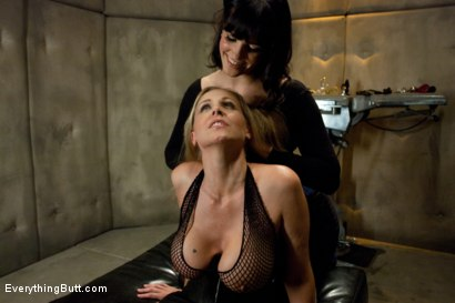 Photo number 2 from Julia Ann's Anal Domination shot for Everything Butt on Kink.com. Featuring John Strong, Bobbi Starr and Julia Ann in hardcore BDSM & Fetish porn.