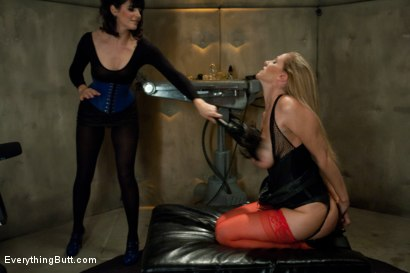 Photo number 3 from Julia Ann's Anal Domination shot for Everything Butt on Kink.com. Featuring John Strong, Bobbi Starr and Julia Ann in hardcore BDSM & Fetish porn.