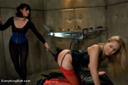 Photo number 5 from Julia Ann's Anal Domination shot for Everything Butt on Kink.com. Featuring John Strong, Bobbi Starr and Julia Ann in hardcore BDSM & Fetish porn.