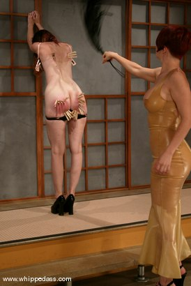 Photo number 5 from Kendra James and Sonya shot for Whipped Ass on Kink.com. Featuring Kendra James and Sonya in hardcore BDSM & Fetish porn.