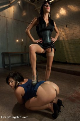 Photo number 1 from Anal Punishment: Gia DiMarco and Aariella Alexis shot for Everything Butt on Kink.com. Featuring Mark Davis, Gia DiMarco and AArielle Alexis in hardcore BDSM & Fetish porn.