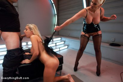 Photo number 9 from Anal Blondes in Latex shot for Everything Butt on Kink.com. Featuring Mariah Madisynn, Phoenix Marie and Anthony Rosano in hardcore BDSM & Fetish porn.