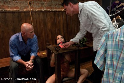 Photo number 11 from The Shoplifter shot for Sex And Submission on Kink.com. Featuring Amy Brooke, Mark Davis and Marco Banderas in hardcore BDSM & Fetish porn.