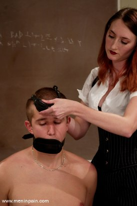 Photo number 9 from Michael and Kendra James shot for Men In Pain on Kink.com. Featuring Kendra James and Michael in hardcore BDSM & Fetish porn.