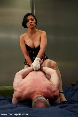 Photo number 11 from Billy Budd and Mika Tan shot for Men In Pain on Kink.com. Featuring Billy Budd and Mika Tan in hardcore BDSM & Fetish porn.
