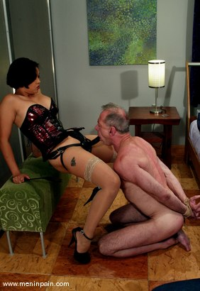 Photo number 10 from Billy Budd and Mika Tan shot for Men In Pain on Kink.com. Featuring Billy Budd and Mika Tan in hardcore BDSM & Fetish porn.