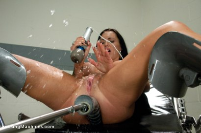 Photo number 6 from Licking Up Her Squirt: The Ever Wet Jenna shot for Fucking Machines on Kink.com. Featuring Jenna Presley in hardcore BDSM & Fetish porn.