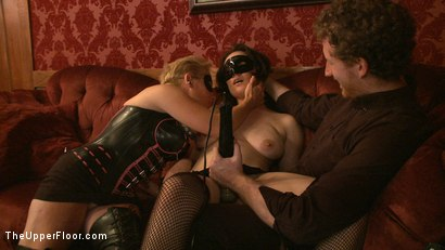 Photo number 21 from Stefanos' Brunch shot for The Upper Floor on Kink.com. Featuring Maestro Stefanos, Nerine Mechanique and Iona Grace in hardcore BDSM & Fetish porn.