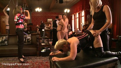 Photo number 24 from Stefanos' Brunch shot for The Upper Floor on Kink.com. Featuring Maestro Stefanos, Nerine Mechanique and Iona Grace in hardcore BDSM & Fetish porn.