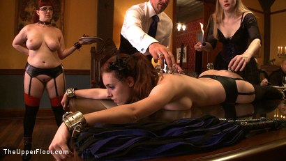 Photo number 4 from Stefanos' Brunch shot for The Upper Floor on Kink.com. Featuring Maestro Stefanos, Nerine Mechanique and Iona Grace in hardcore BDSM & Fetish porn.
