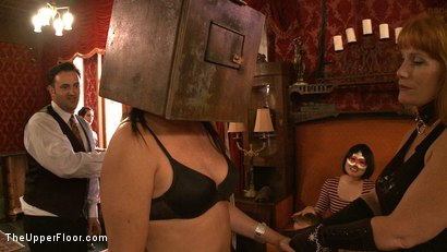 Photo number 5 from Stefanos' Brunch shot for The Upper Floor on Kink.com. Featuring Maestro Stefanos, Nerine Mechanique and Iona Grace in hardcore BDSM & Fetish porn.