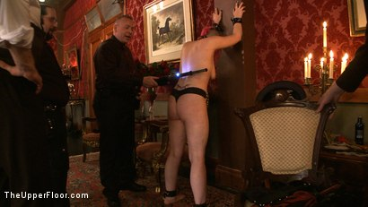 Photo number 6 from Stefanos' Brunch shot for The Upper Floor on Kink.com. Featuring Maestro Stefanos, Nerine Mechanique and Iona Grace in hardcore BDSM & Fetish porn.